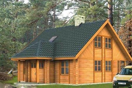дома на основе деревянного каркаса г.Санкт-Петербург