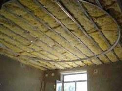 Утепление потолка в Санкт-Петербурге. Утеплить потолок г.Санкт-Петербург